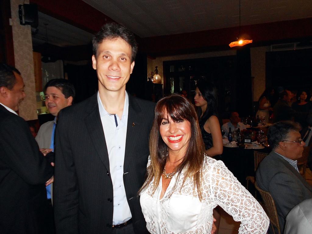 Cláudio Zambaldi e Maria Zilda Machado Torres
