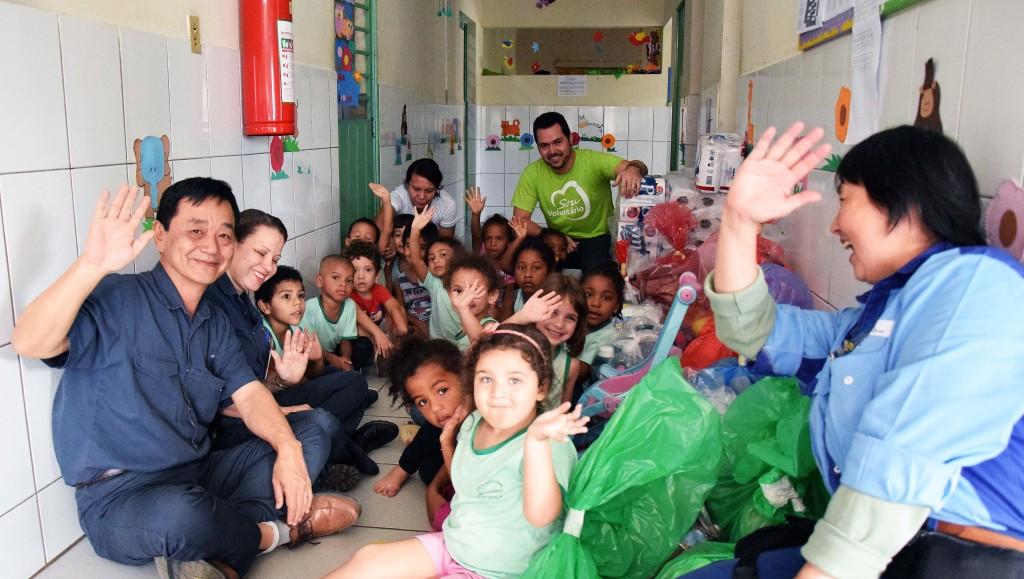 Entrega Campanha Agasalho - Vila da Paz - 002