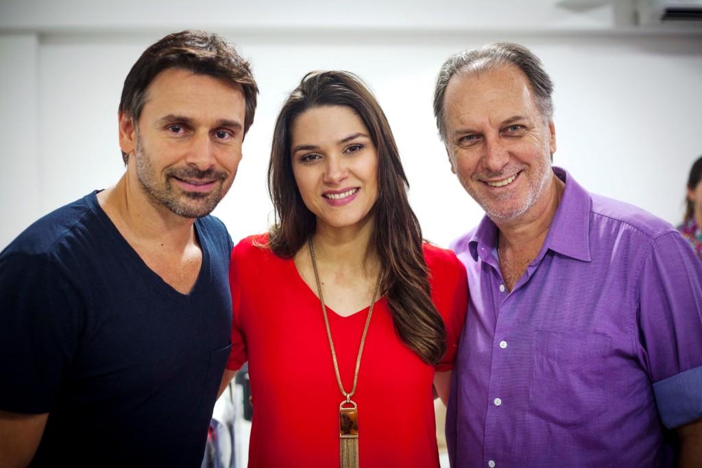 Murilo Rosa, Fernanda Machado e Renato Prieto