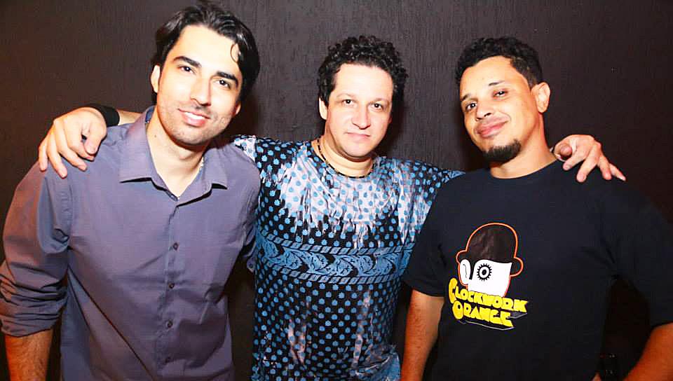 """Emerson """"Tutu"""", Raul Assunção e Leandro Cortezão integram a banda Camaro de Timóteo"""