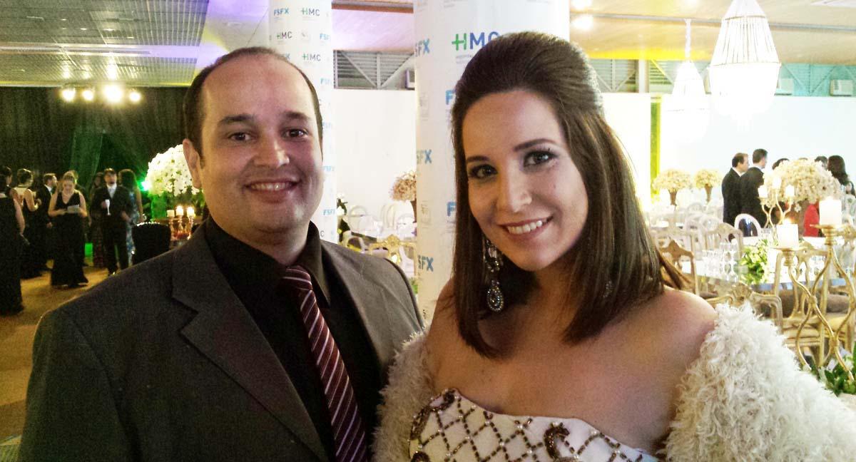 Bruno Freire e Anelise Goper comandam na sexta-feira, a entrega do Troféu Mais Vip