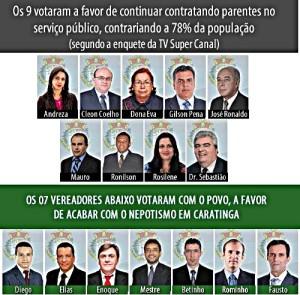 Câmara de Vereadores de Caratinga - MG