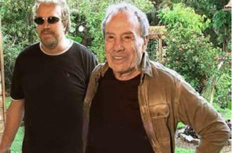 """O cineasta Dênis Curi e o ator Stênio Garcia, que deverá atuar em seu próximo filme, """"Monte Castelo"""""""