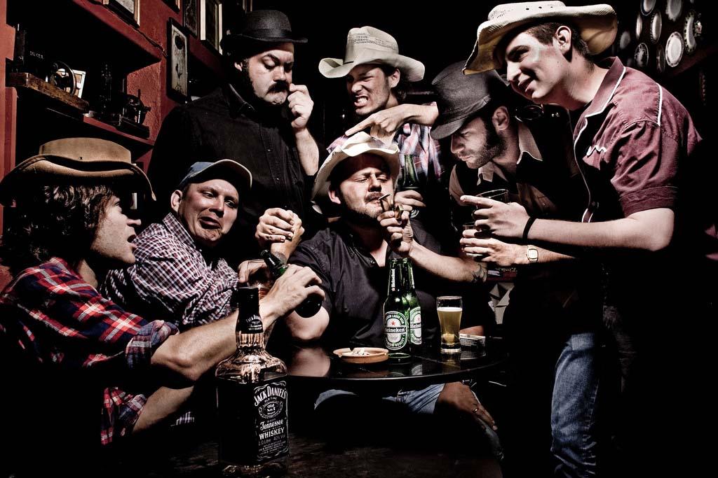 """A Fabulous Bandits gravou um videoclipe da música """"Amor Bandido"""", destaque na MTV, em 2009 (Foto: divulgação)"""