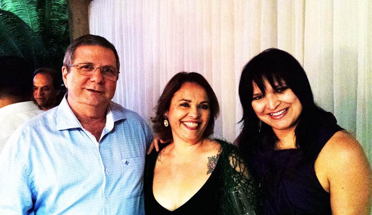 O presidente da Viga Caldeiraria, Flaviano Gaggiato; a consultora da Fiemg, Patrícia Barbosa; e a jornalista Sandra Serafim