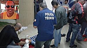 Ivonaldo Batista foi executado covardemente com onze tiros. Foto: via41.com.br