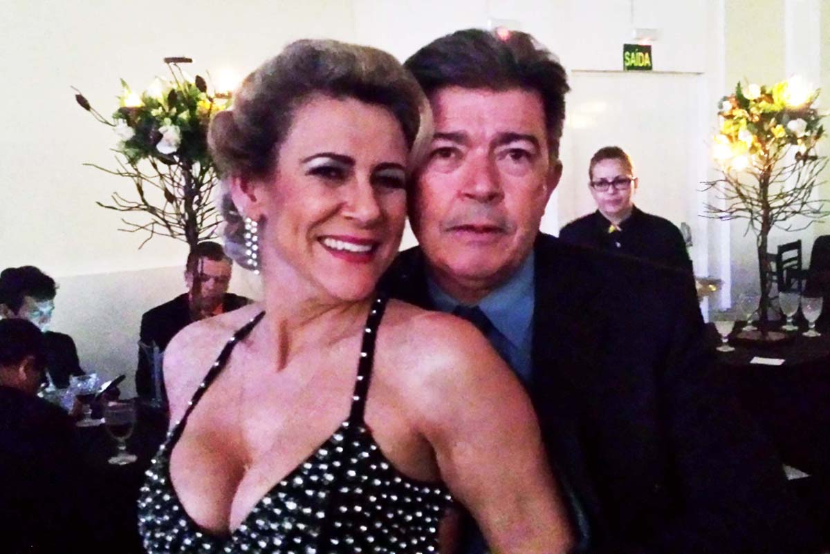 No baile do Troféu Mais Vip, Lourdes e Idalino Bastos