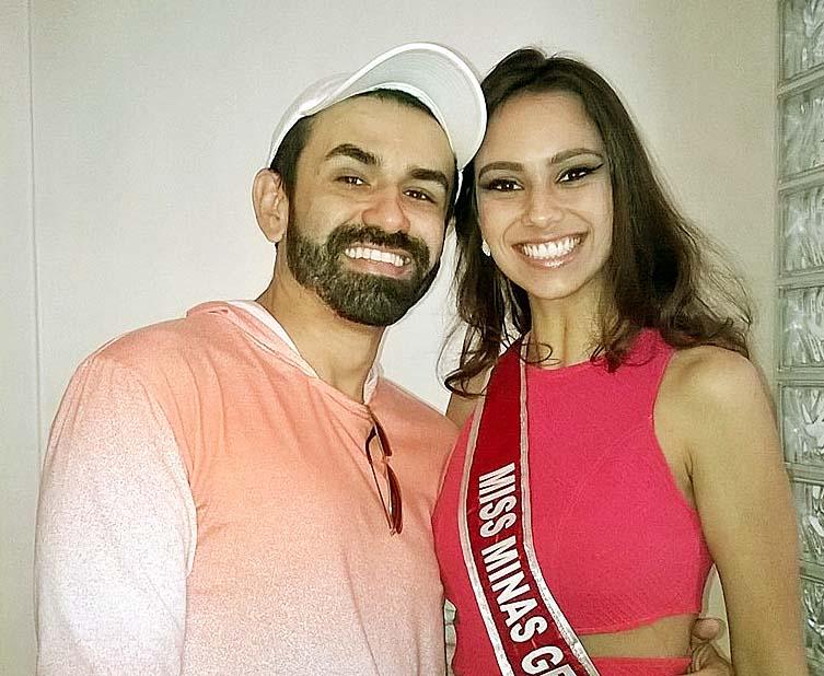 Ton Xavier e Adrielle Castro