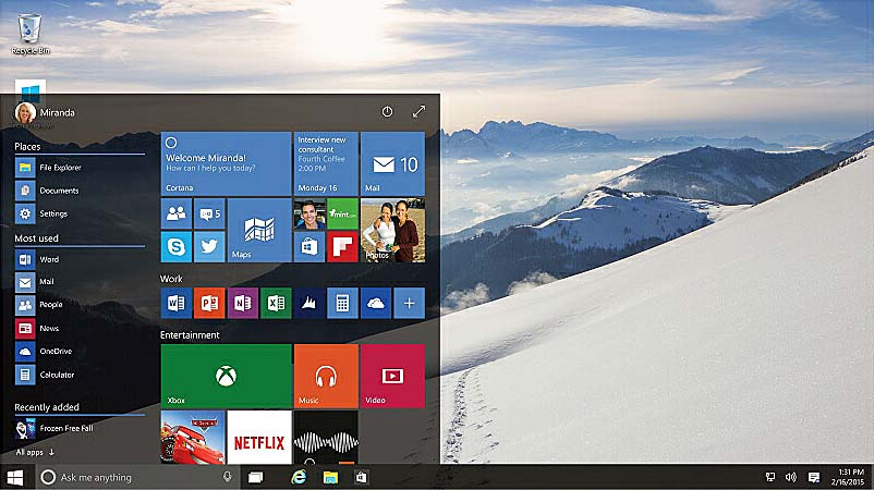 O novo Windows 10 começa a ser distribuído hoje