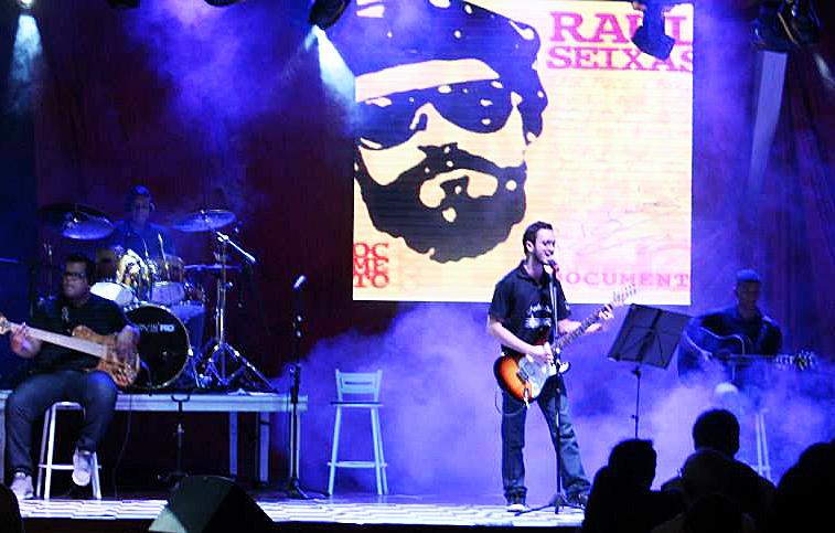"""""""Ponto da Música"""" recorda Raul Seixas (Foto: Divulgação Aperam)"""