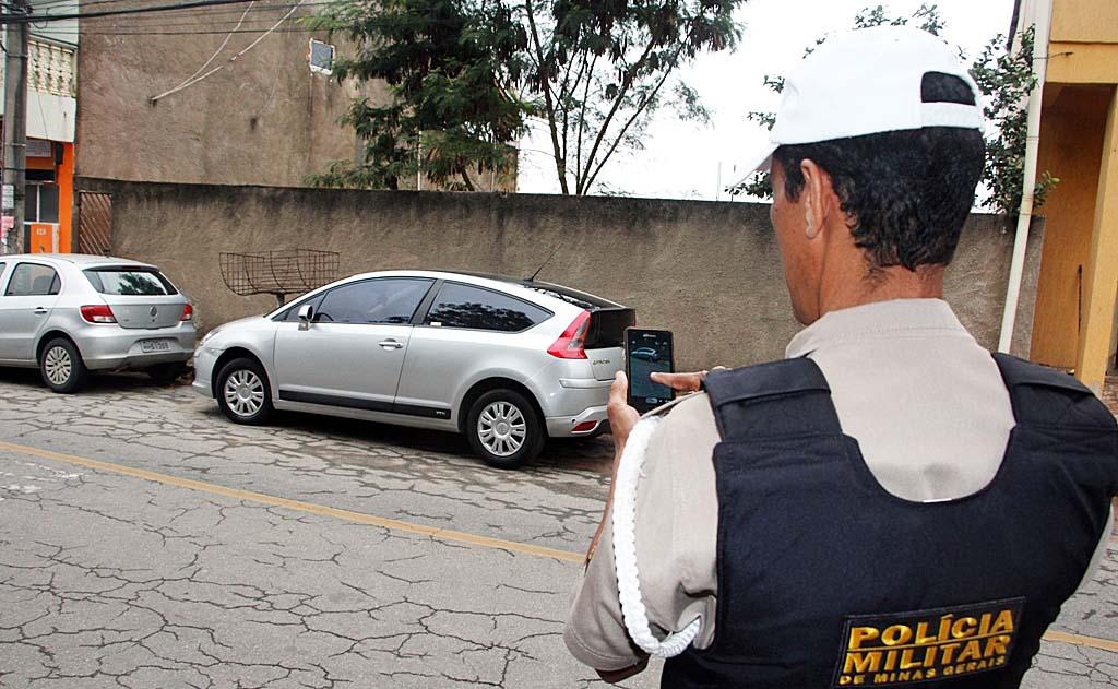 As multas de trânsito em Ipatinga são registradas via internet móvel