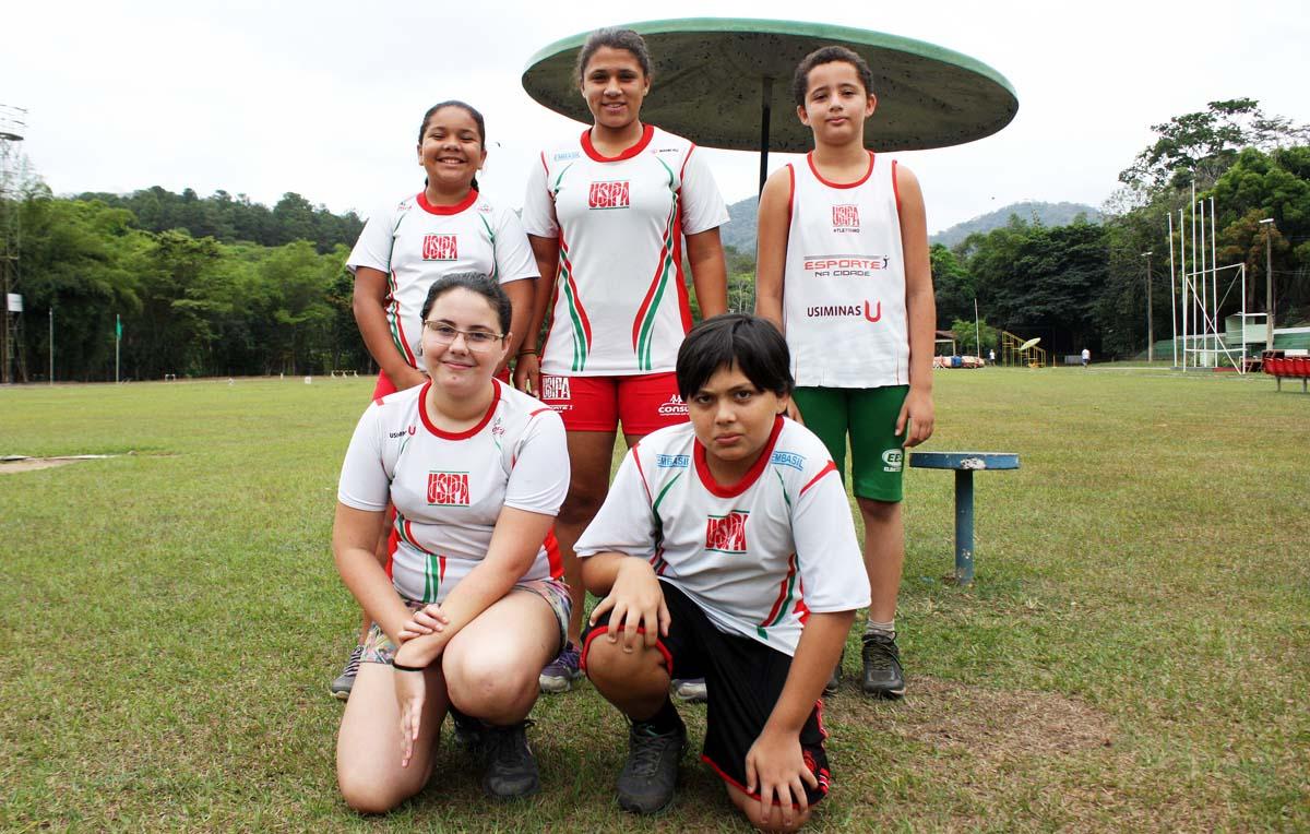 Equipe da Usipa compete no Estadual Caixa Mirins de Atletismo neste fim de semana (Foto: Samuel Martins)
