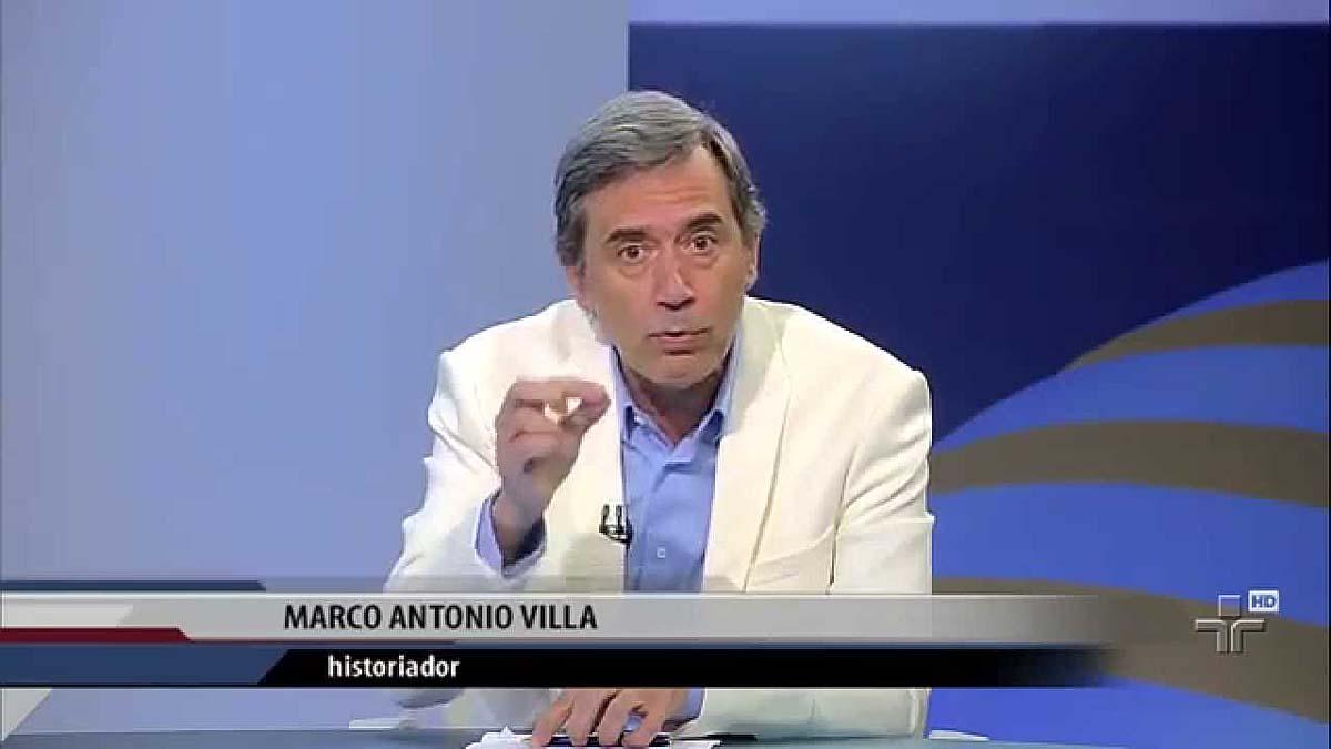 Justiça acata ação de Lula contra o comentarista Marco Antônio Villa