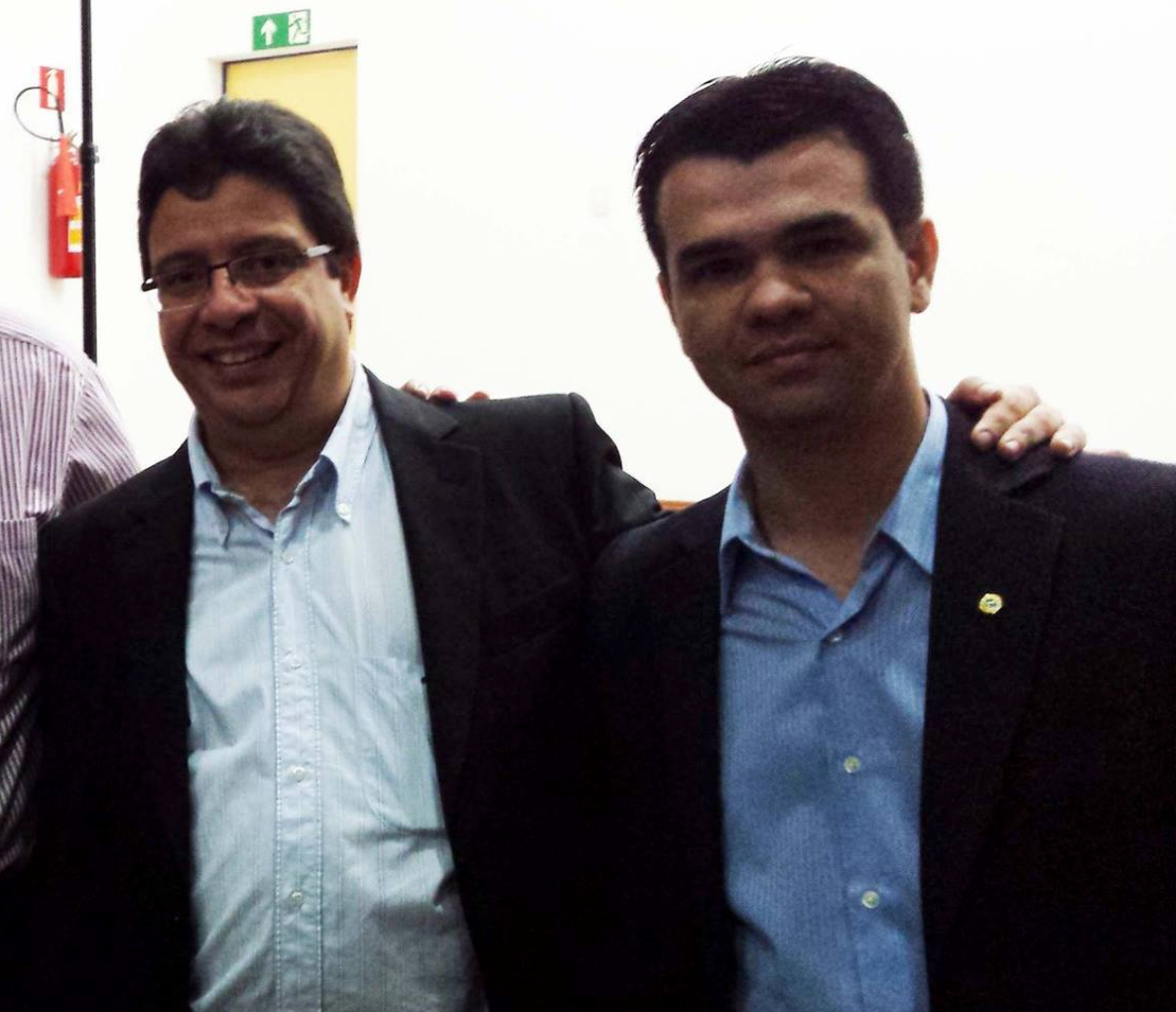 Adilson Neves, diretor da Multipla Business e Wederson Marinho, direotr da DP3 Business
