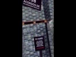 Pilha de dinheiro recuperado pela Lava Jato é exposta em Curitiba